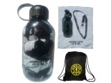 G991 Golds Gym Workout Accessories Bundle (Gym Water Bottle, Workout Towel, drawstring workout bag backpack)